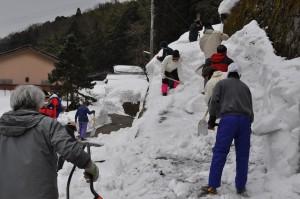 すぐに雪の山に挑戦