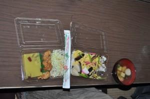 丹後ばら寿司と芋ようかん