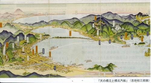 橋立図吉田初三郎昭和9年
