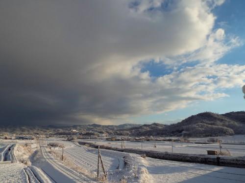 093丹後雪景色