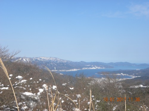 スキー場から天橋立