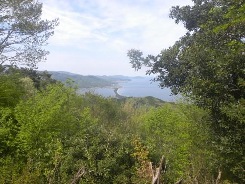 妙見山から縦の天橋立