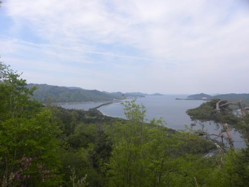 平岩山展望台から天橋立